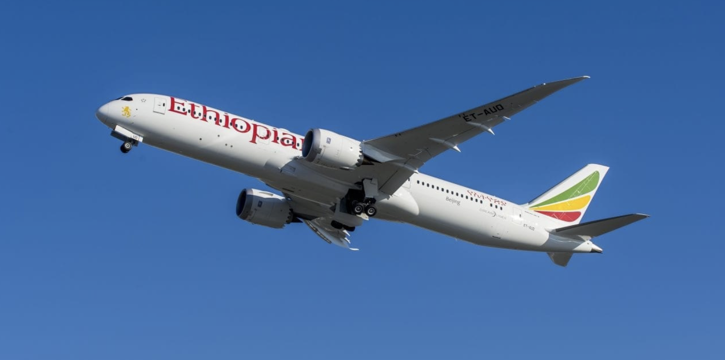 Ethiopian Airlines re-starts a number of passenger services