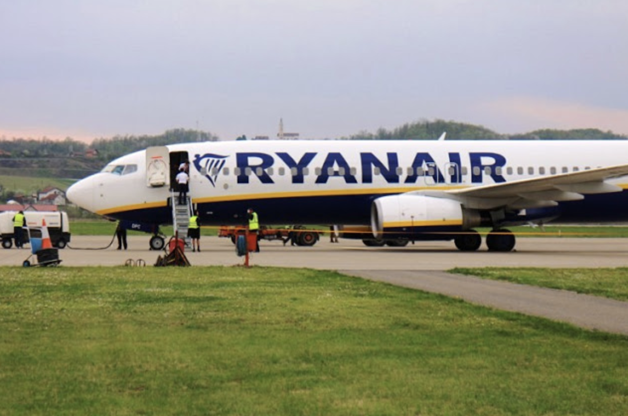 INCIDENT A Ryanair flight was forced to make an emergency landing