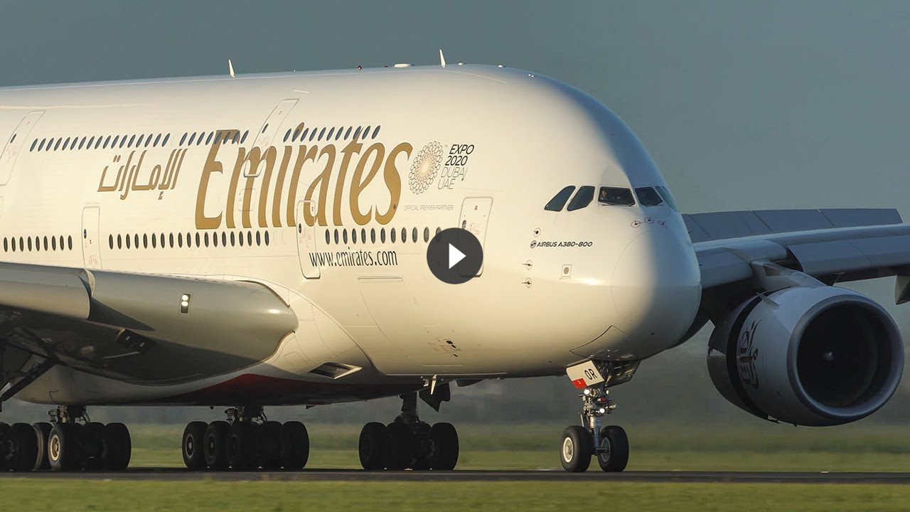 Plane Spotting in Europe – Airbus A380, Boeing 747, B777, B787