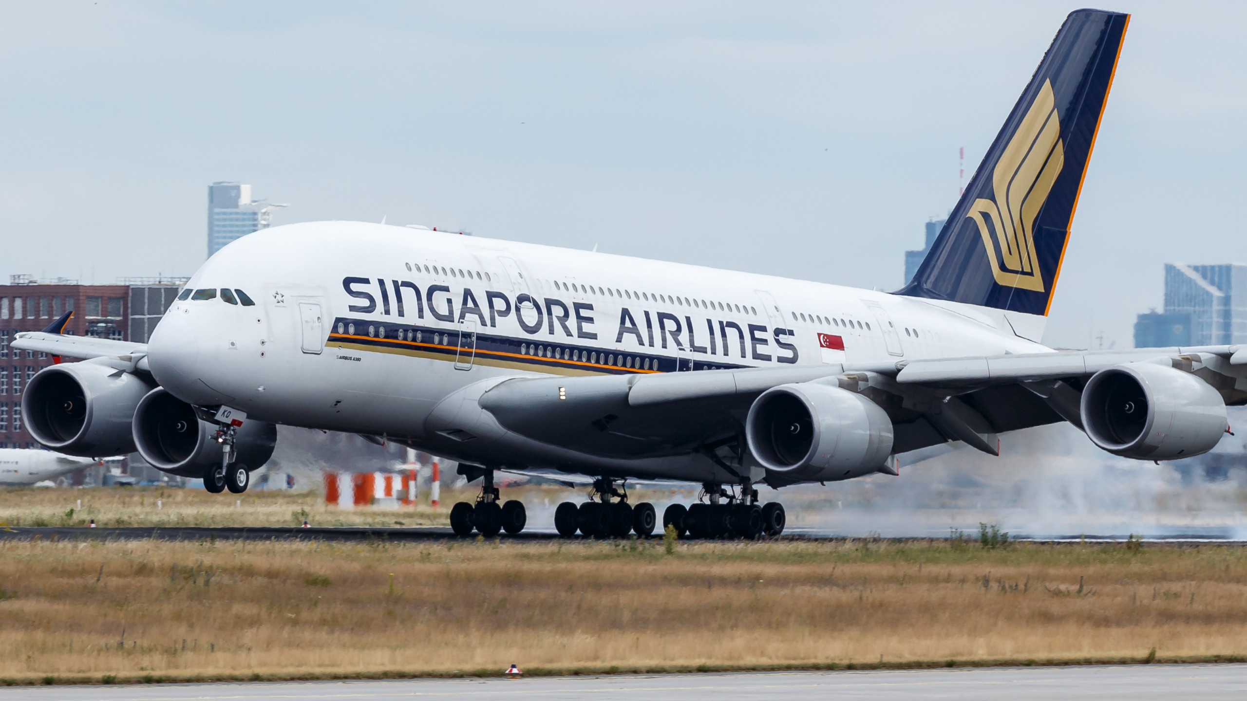 Singapore Airlines to operate the world's shortest Airbus A380 flight